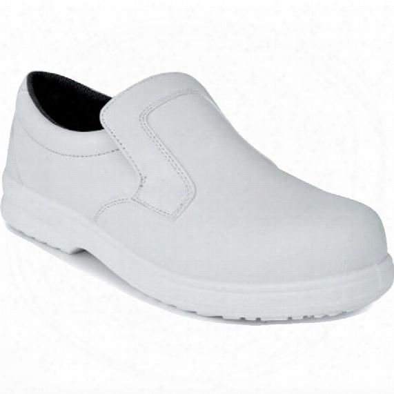 Portwest Fw81 Slip-on Safety Shoe White Size 6