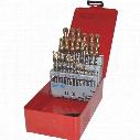 Dormer A095 Set 18 Hss-Tin Jobber Drills (29-Pce)