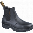 Drmartens 114Sm Cottam Men'S Black Dealer Safety Boots - Size 8