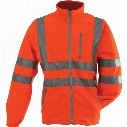 Pulsarail Polar Fleece Hi-Viz Orange Large