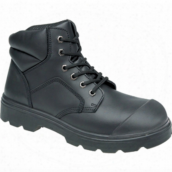 Toesavers 2418 Dual Density Men's Black Safety Boots - Size 9