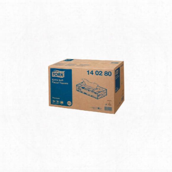 Tork 140280 Premium Facial Tissue 2-ply White (pk-30)