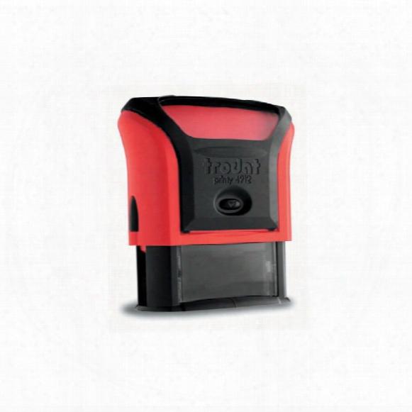 Trodat 6/4921 Replacement Pad Red Dm83442 (pk-2)