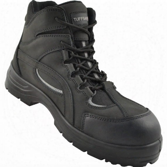 Tuffsafe Black Hiker Safety Boots - Size 3