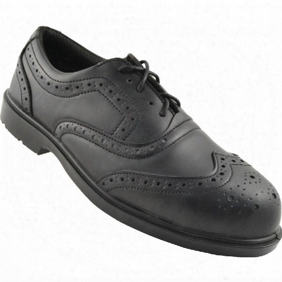 Tuffsafe Brogue Shoe Black S3 Srcsize 7