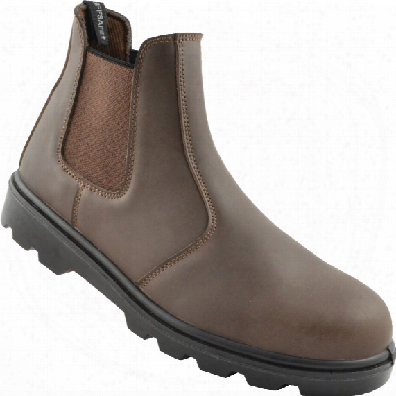 Tuffsafe Brown Dealer Safety Boots - Size 10