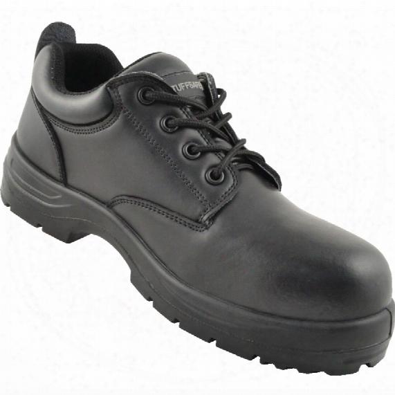 Tuffsaef Shoe Black 4 Eyelet Mf S3src Size 6