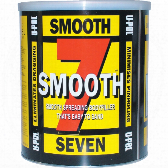 U-pol Sm/7 Smooth Seven Body Filler L/grey 3.5ltr