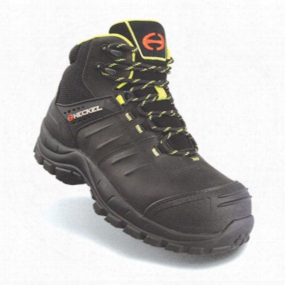 Uvex Heckel Crossroad Black Safety Boots Size - 9