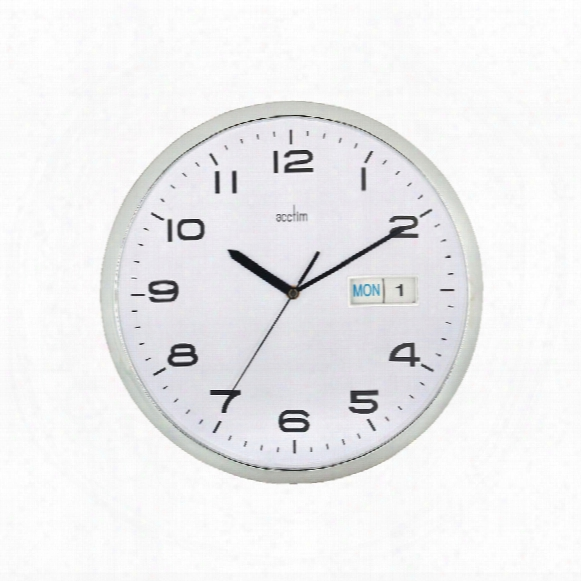 Acctim 21027 Supervisor Wall Clock 320mmchr/wht