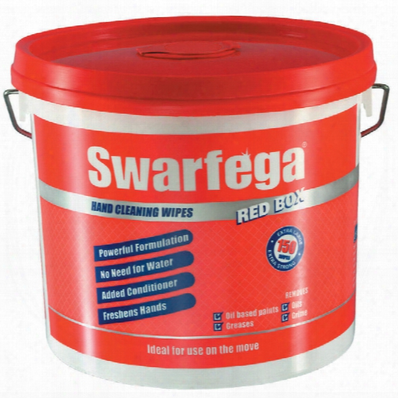 Deb Swarfega H/d Red Box Wipes