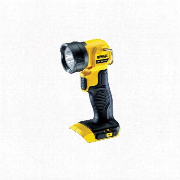 Dewalt Dcl040-xj 18v Xr Pivot Work Light Bare Unit