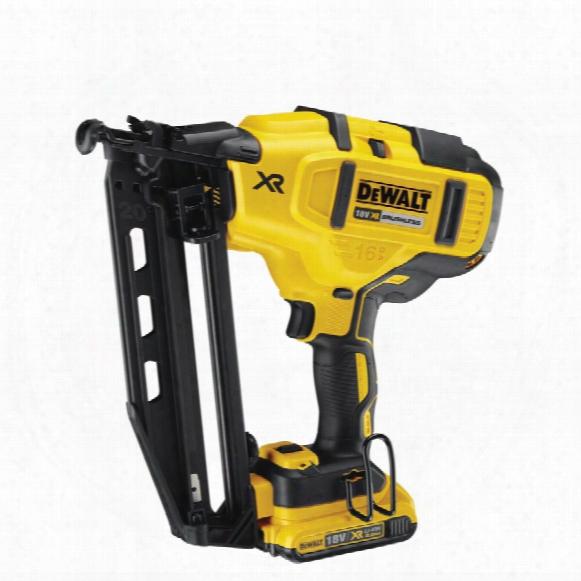 Dewalt Dcn660d2-gb 18v Brushless 2nd Fix Nailer 2x2.0ah