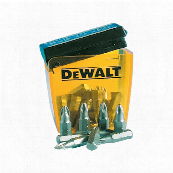 Dewalt Dt7909 Ph2 25 Bits In Flip Top Box