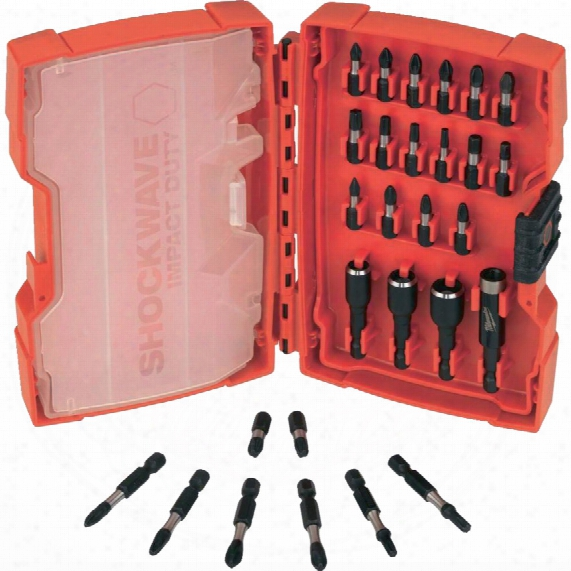 Milwaukee 4932352455 Shockwave Bits & Nut Drivers Set 28pc