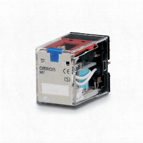 Omron Miniature Relay My4in 24dc (s)