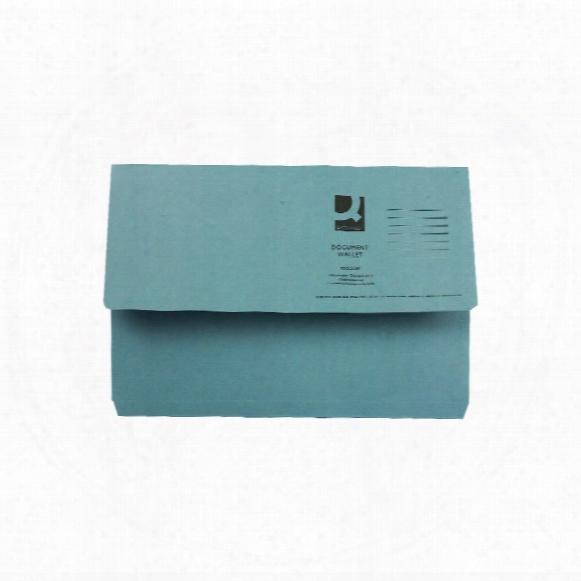 Qconnect 24313/45913 Document Wallet Fcpble (pk-50)