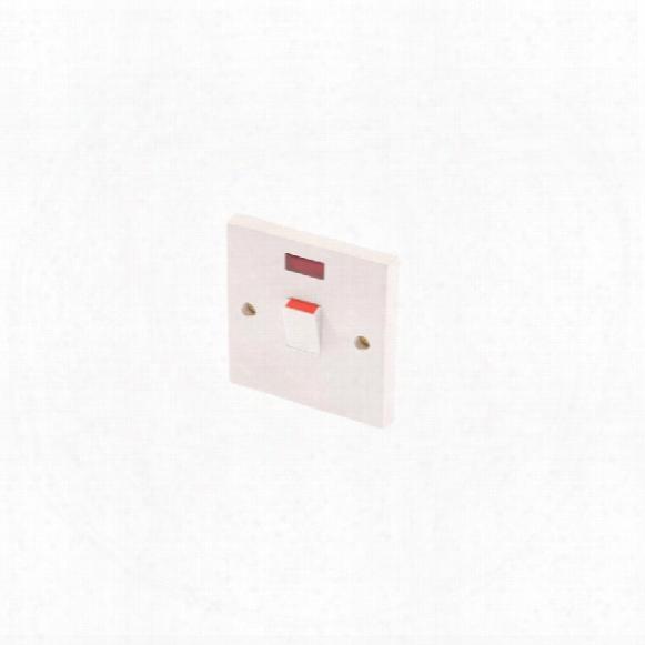 Smj  Ppsw20dpn Switch 20amp 2 Pole & Neon