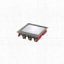 Mk Electric Crmb265-3Gry Raised Modular Floor Box 265X265 3-Compartment Grey