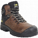 Perf Pb1C Torsion Pro Brown Hiker Safety Boots - Size 6