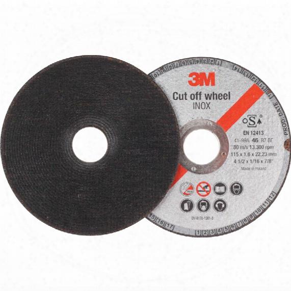 3m 62920 230mmx2.00mm Inox Cut-off Wheel