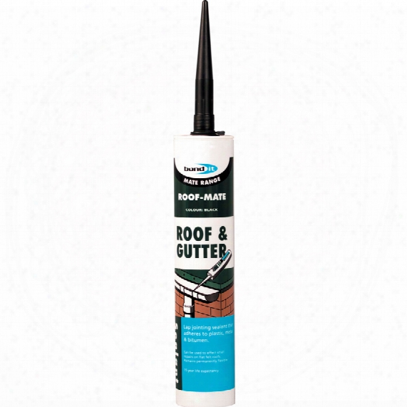 Autosol Bond It Roof And Gutter Sealant Black 310ml