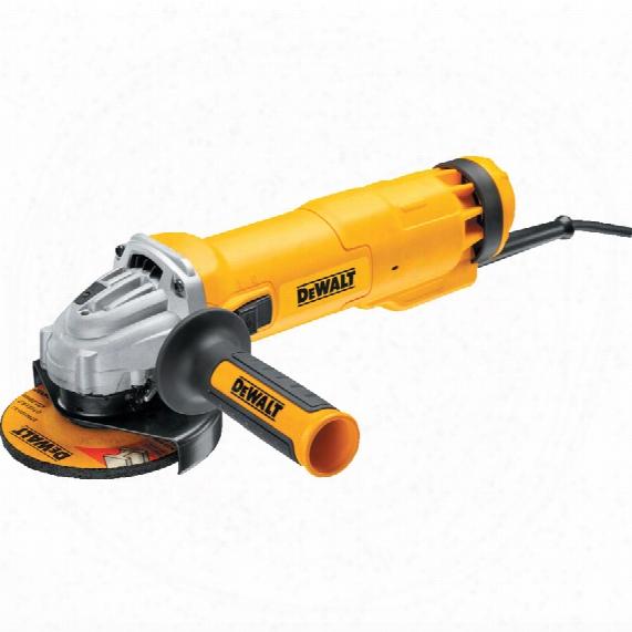 Dewalt Dwe4206-lx 115mm 1010w Compact Angle Grinder 110v