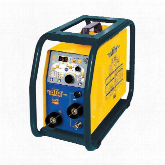 Gysmi Tig 167 Dc Hf Tig Inverter Shock Resist 230v