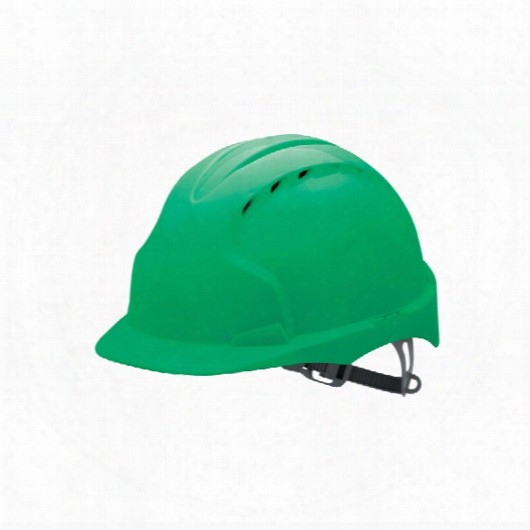 Jsp Ajf160-000-300 Evo3 Vented Safety Helmet Green