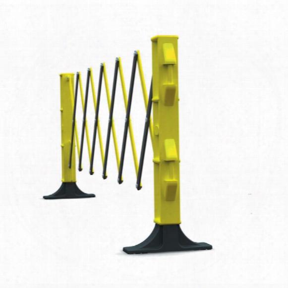 Jsp Kaz110-005-300 Expandable Titan Barrier 3m Ylw/blk