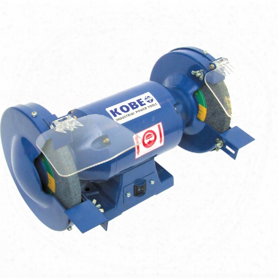 "Kobe B2-1/2-8 Bench Grinder 8"" (200mm) 240volt 385watt"