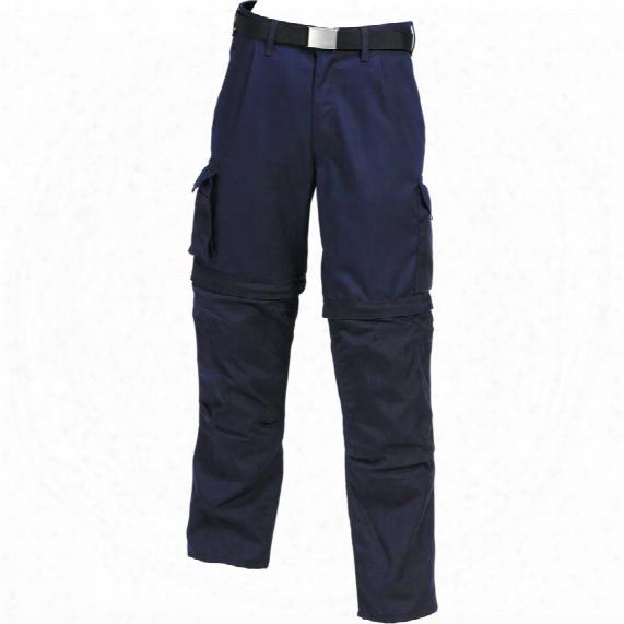Mascot Cadiz Men's Navy Work Trousers - Size 34r