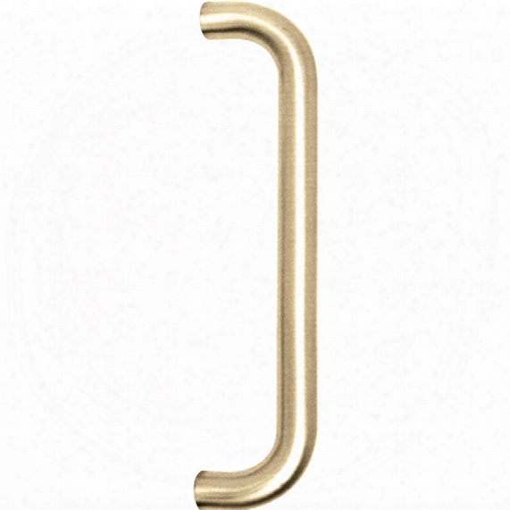 Matlock P.brass Pull Handle Back To Back Fix 225x19mm Pk-2