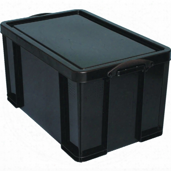 Really Useful Products Really Useful 84ltr Recycled Box Black