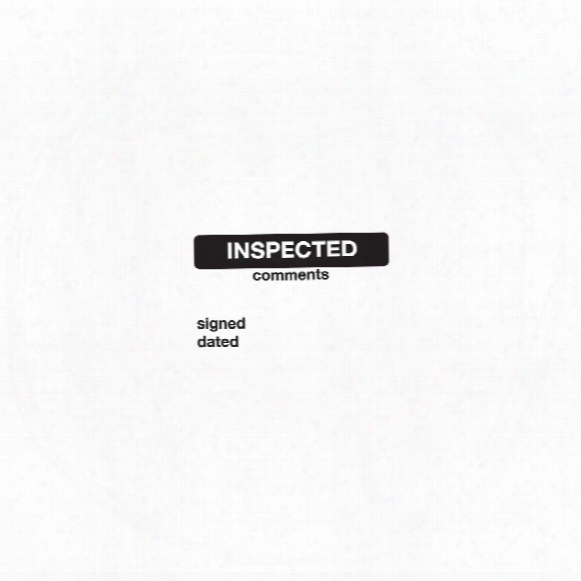 Sitesafe Inspected Vinyl Label 40x75mm