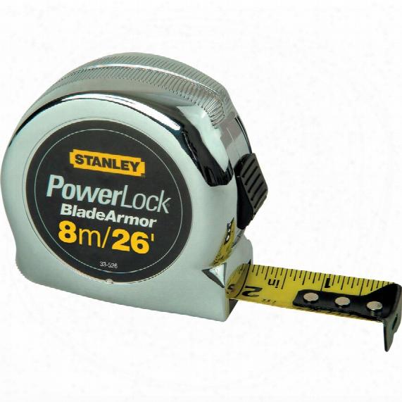 Stanley 0-33-526 8m/26ft Powerloc K Tape