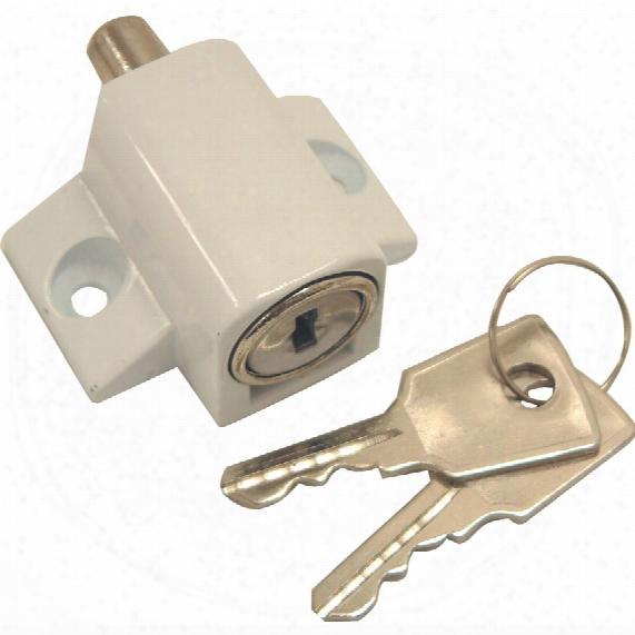 Sterling Plw100 Patio Door Lock White