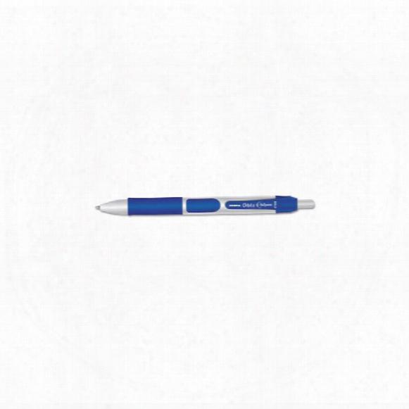 Zebra Orbitz Gel Pen Retractable Blue (pk-12)
