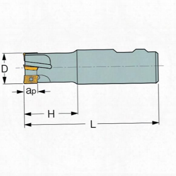 Iscar E90 D20-w20 Helimill Cutter