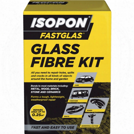 Isopon Gl/sm/d Fastglas Small Glass Fibre Kit