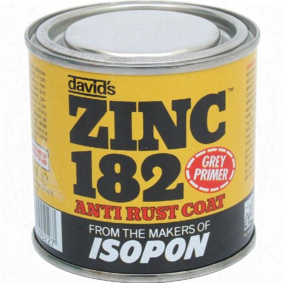 Isopon Z182/s Zinc Anti Rust Coat Grey Tin 250ml
