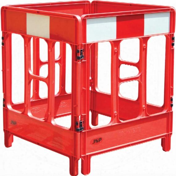 Jsp Kbc023-000-600 Workgate 4 -gate System Red Panel