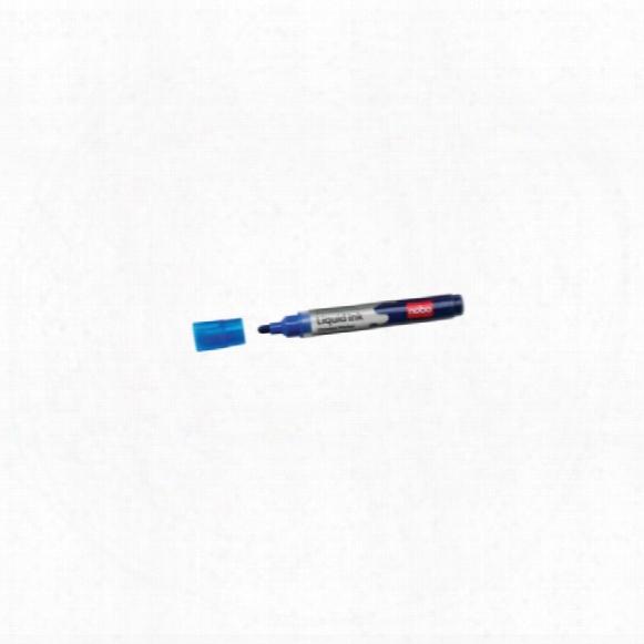 Nobo Drywipe Marker-blue
