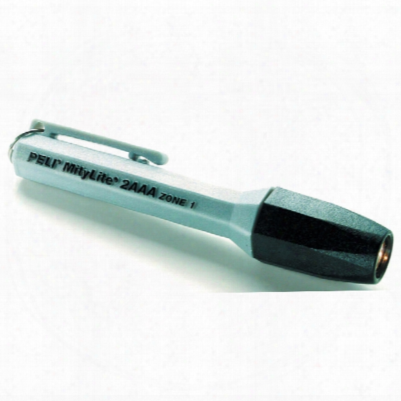 Peli 1900z1 Mitylite Zone 1 Torch Silver (2xaaa)