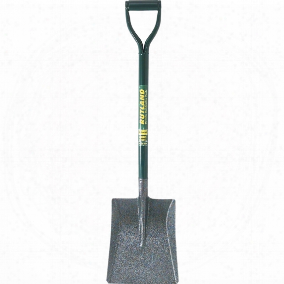 Rutland Contrators Tools C/s Square Shovel Metal Shaft