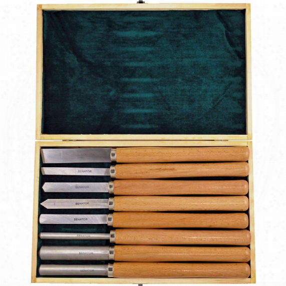 Senator Wood Turning Tool Set (8-piece)