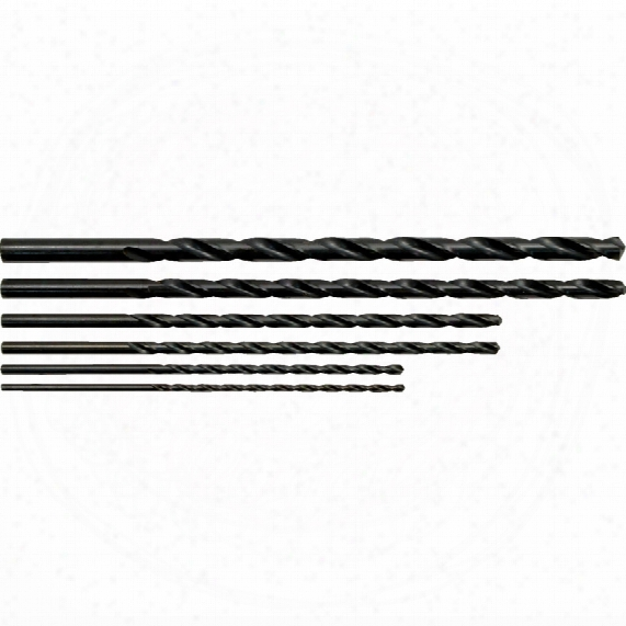Sherwood Set Of 6 Hss Extra Length Drills 3-10.00mm