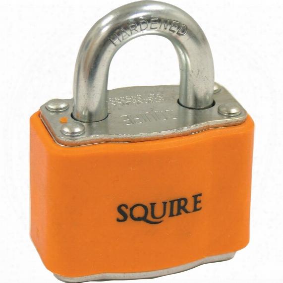 Squire 35/ka Stronglock Lock-off Padlock Orange Key 4242