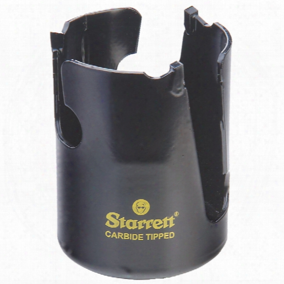 Starrett 51mm Tct Fast Cutting Wood Holesaw
