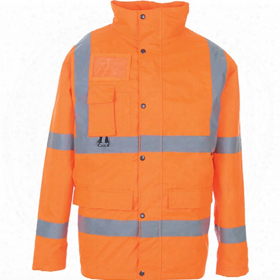 Supertouch 35b85 Rail Industry Hi-vis Breathable Jacket 2xl